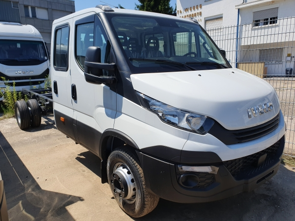 IVECO DAILY 35C18 D, DoKa, brygadowy, 4100mm